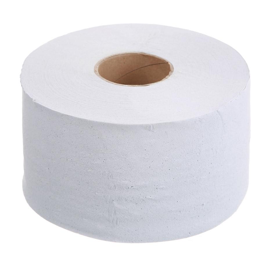 Бумага туалетная Lime в рулоне, 200м/рул, 1-сл, светло-серая, 12рул/уп, 10.200Б