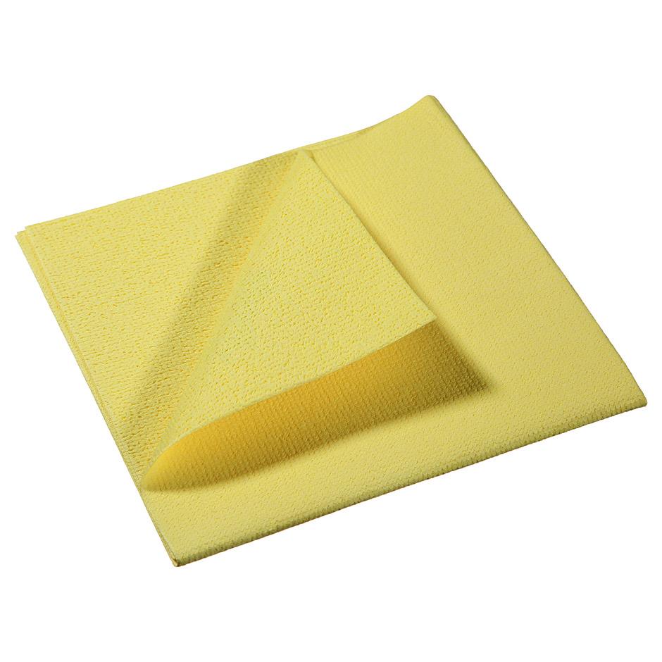 Салфетка Vileda ПВАмикро 35х38см, пропитанная микрофибра, желтая, 143592 - изображение 1