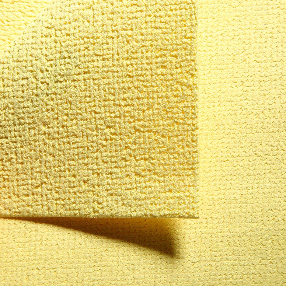 Салфетка Vileda ПВАмикро 35х38см, пропитанная микрофибра, желтая, 143592 - изображение 2
