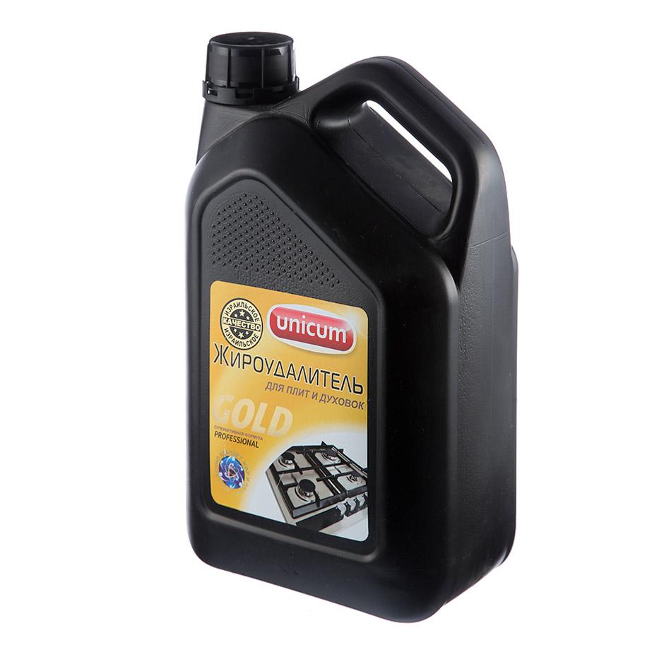 Средство чистящее для кухни Unicum Gold professional жироудалитель, 3л