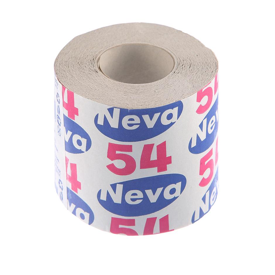 Бумага туалетная Neva 54 в рулоне, 30м/рул, 1-сл, светло-серая