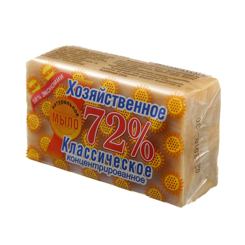 Мыло хозяйственное Аист классическое 72%, 150г, в упаковке, концентрированное