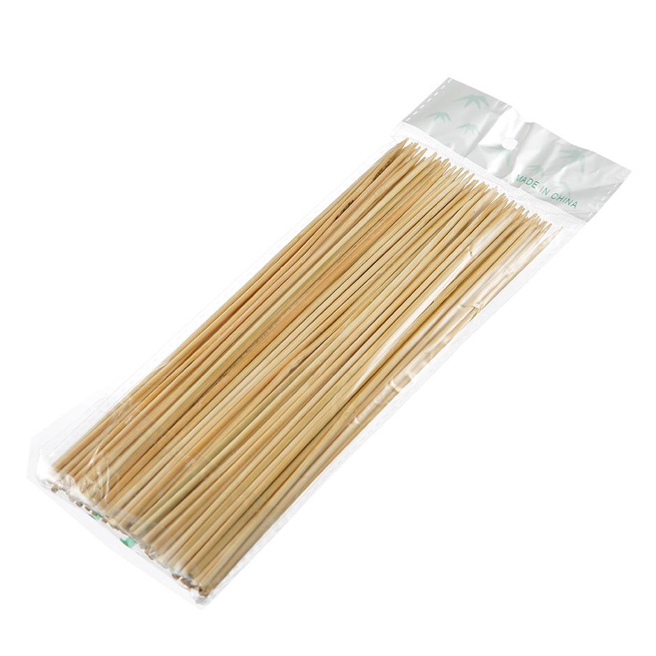 Шпажки бамбуковые для шашлыка 20см, 100шт/уп - изображение 1