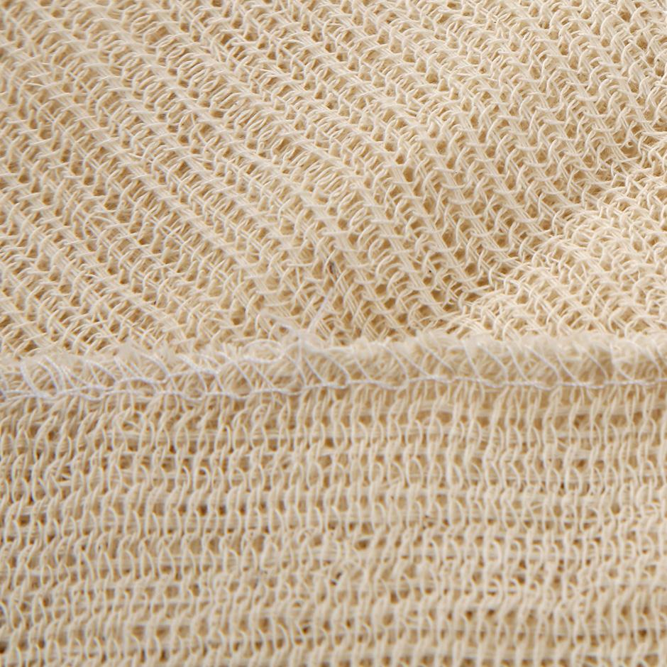 Тряпка для пола 60х70см, неткол, 3-х слойная, с обшивкой под отверстие, без упаковки - изображение 2
