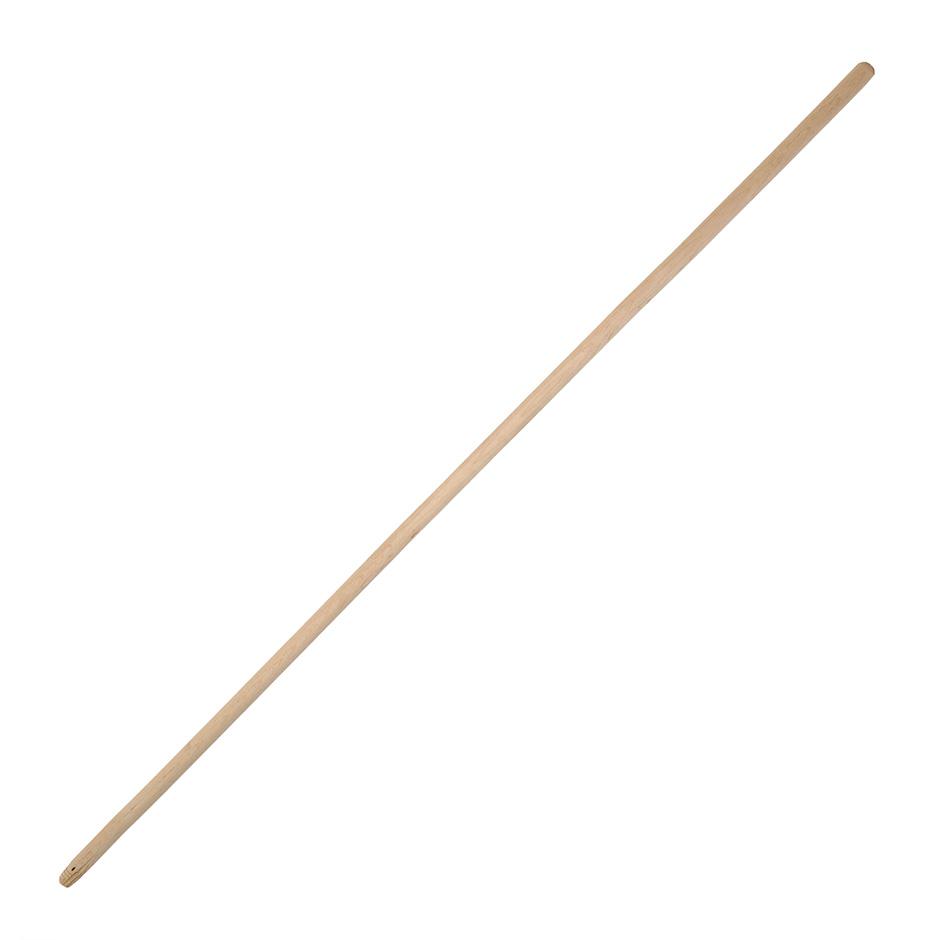Ручка деревянная (черенок) 120см, D22мм, с резьбой