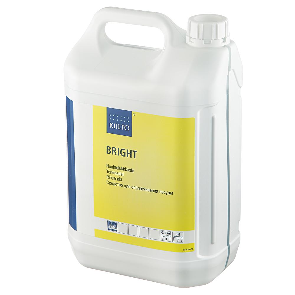 Ополаскиватель для посудомоечных машин Kiilto Bright, 5л