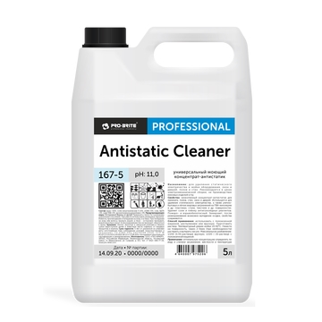 Средство моющее Pro-Brite Antistatic Cleaner, 5л, универсальное, против статического электричества