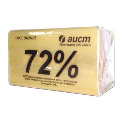 Мыло хозяйственное Аист классическое 72%, 200г, в упаковке