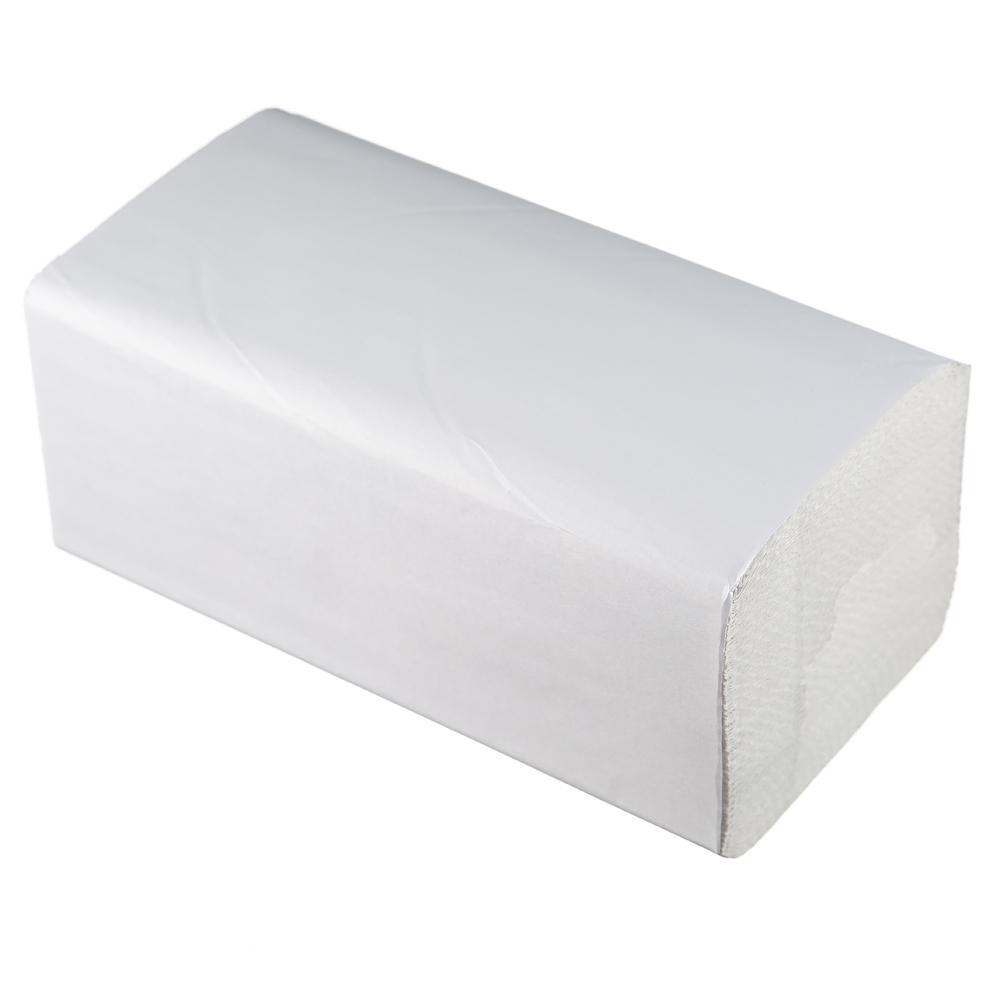 Полотенца бумажные Lime листовые, V-слож, 1-сл, светло-серые, 200шт/пач, 261353
