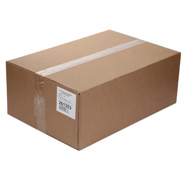 Полотенца бумажные Lime листовые, V-слож, 1-сл, светло-серые, 200шт/пач, 20пач/кор, 261353
