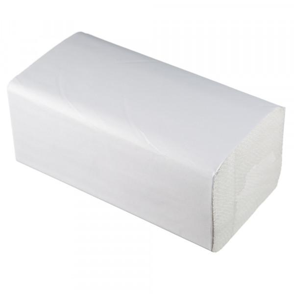 Полотенца бумажные Lime листовые, V-слож, 1-сл, светло-серые, 200шт/пач, 20пач/кор, 261353 - изображение 1