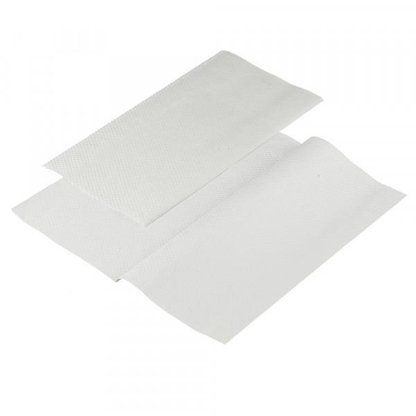 Полотенца бумажные Lime листовые, V-слож, 1-сл, светло-серые, 200шт/пач, 20пач/кор, 261353 - изображение 2