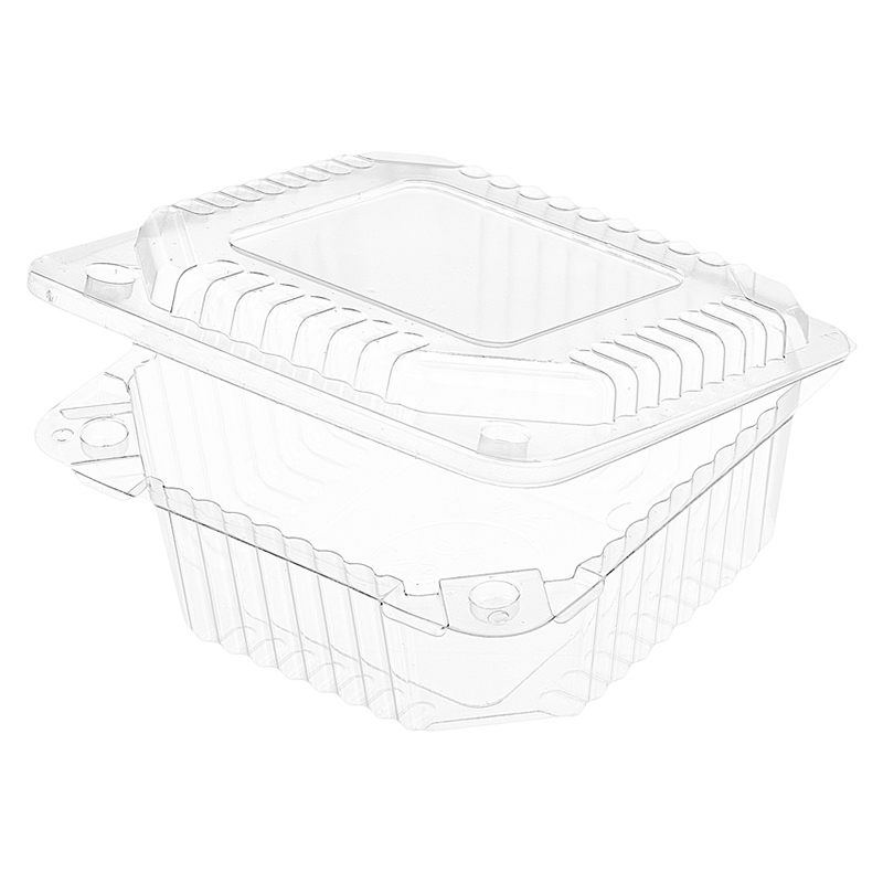 Контейнер-ракушка пластиковый РК-11/1, 132х132х58мм (внутр. 118х115х54мм), 550шт/уп