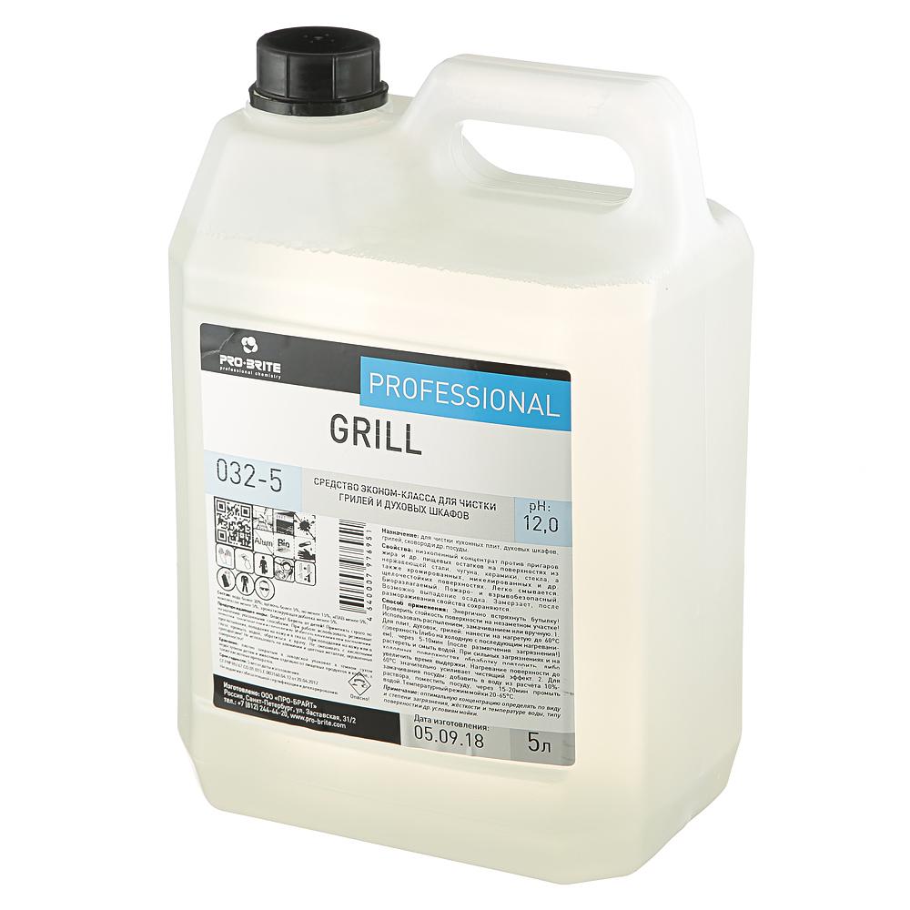 Средство чистящее эконом-класса для грилей и духовок Pro-Brite Grill, 5л