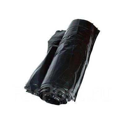 Мешки для мусора 60л, ПНД, в рулоне, 15мкм, прочные, 20шт/рул