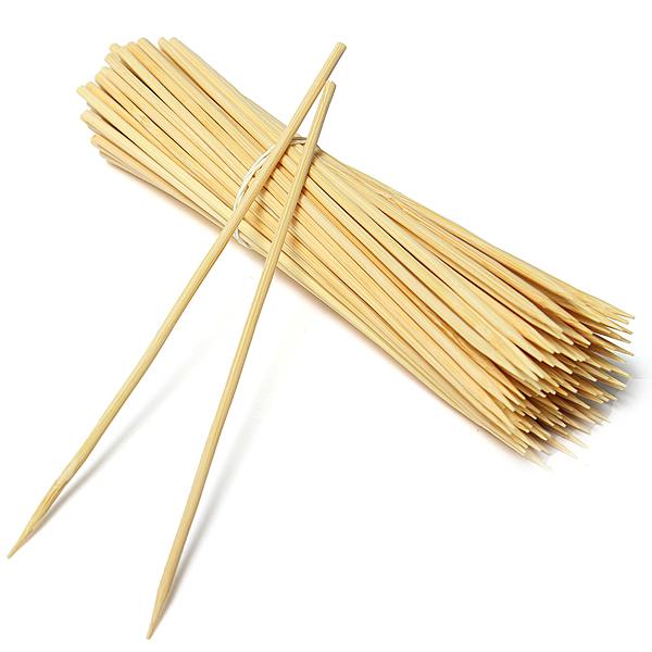 Шпажки бамбуковые для шашлыка 25см, 100шт/уп