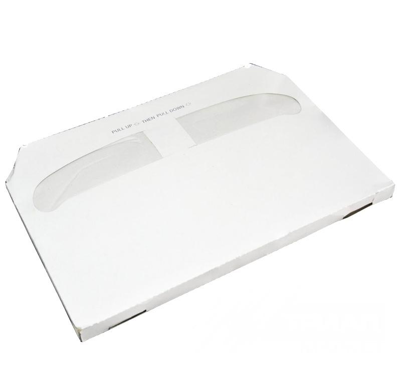 Покрытия на унитаз бумажные, белые, 235шт/уп
