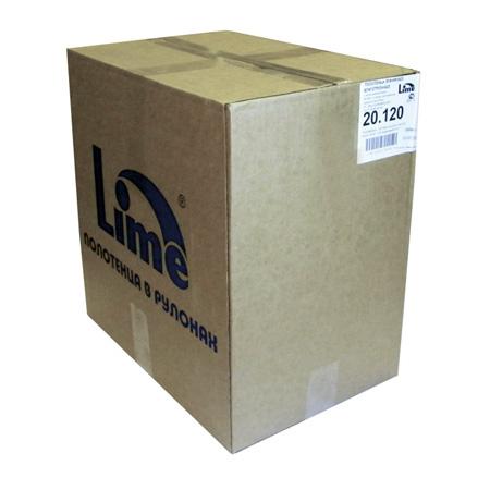 Полотенца бумажные Lime рулонные с центральной вытяжкой, 120м, 1-сл, белые, 12рул/уп, 20.120 - изображение 1