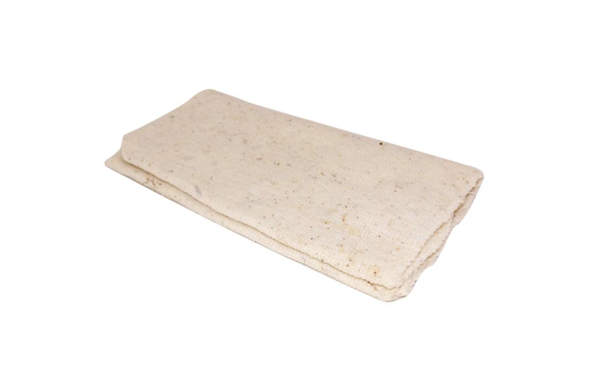 Тряпка для пола 60х80см, ХПП, оверлок, белая, без упаковки