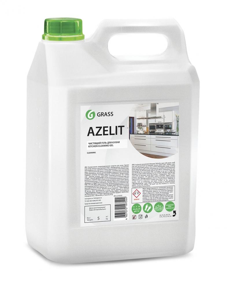 """Средство чистящее для кухни Grass """"Azelit-gel"""", гель, 5,4кг, жироудалитель"""
