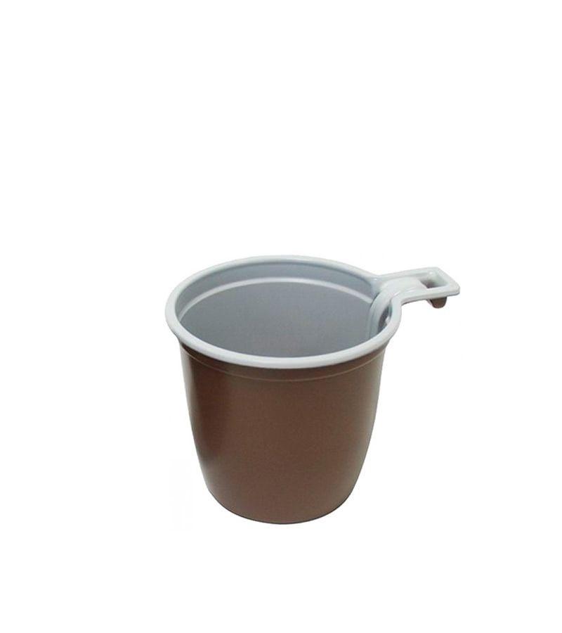 Чашка кофейная 180мл, пластик, 50шт/уп