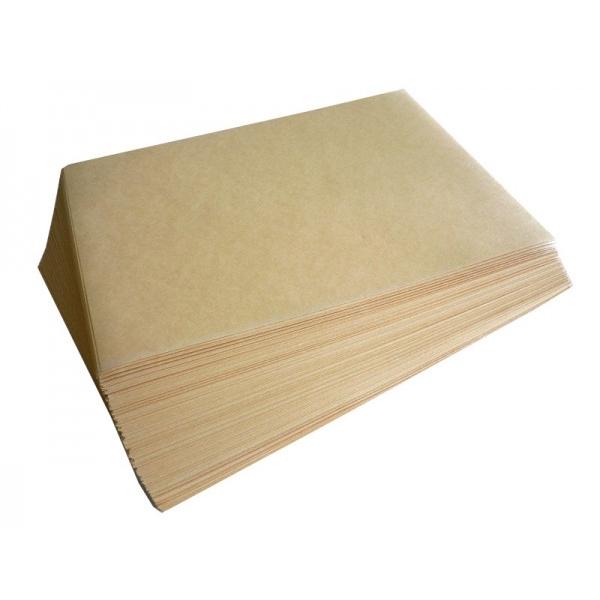 Подпергамент пищевой резаный 41х70см в листах, небеленый, 10кг/уп