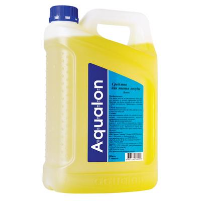 Средство моющее для посуды Aqualon, 5л, лимон