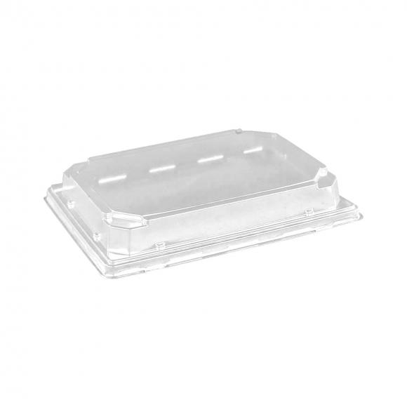 Крышка к контейнеру для суши ПР-С-25, прозрачная, 320шт/кор