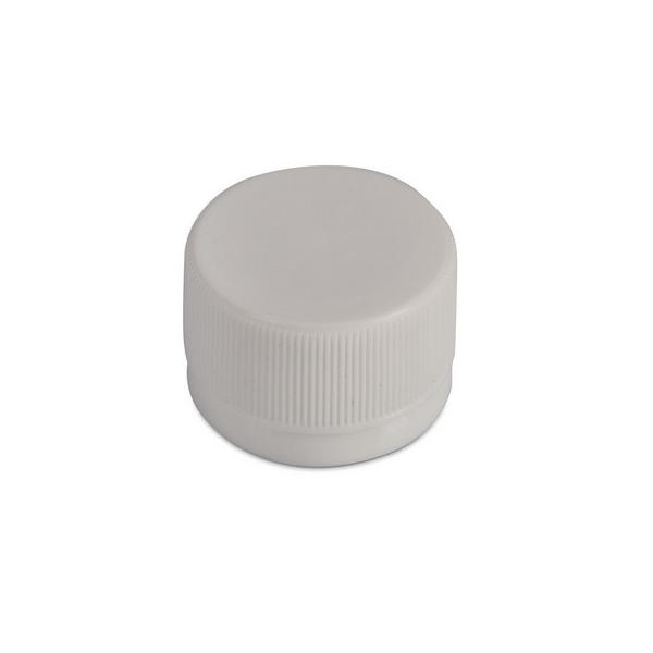 Пробка для бутылки ПЭТ, D28мм (узкое горло), белая, 40шт/уп