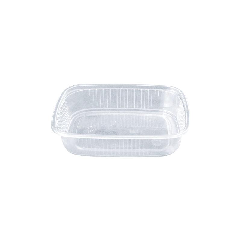 Контейнер пластиковый 125мл, 108х82х27мм, без крышки, 100шт/уп (ЮП)