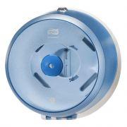 Диспенсер пластиковый для туалетной бумаги в рулонах Tork SmartOne Mini T9, голубой, 472025