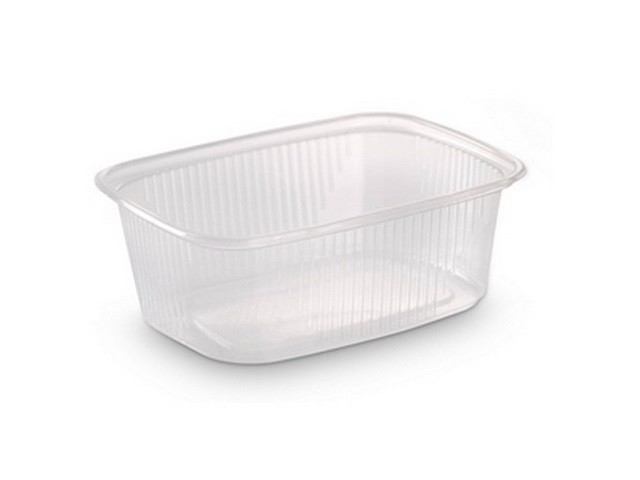 Контейнер пластиковый 500мл, 138х102х59мм, без крышки, 100шт/уп (Ю)