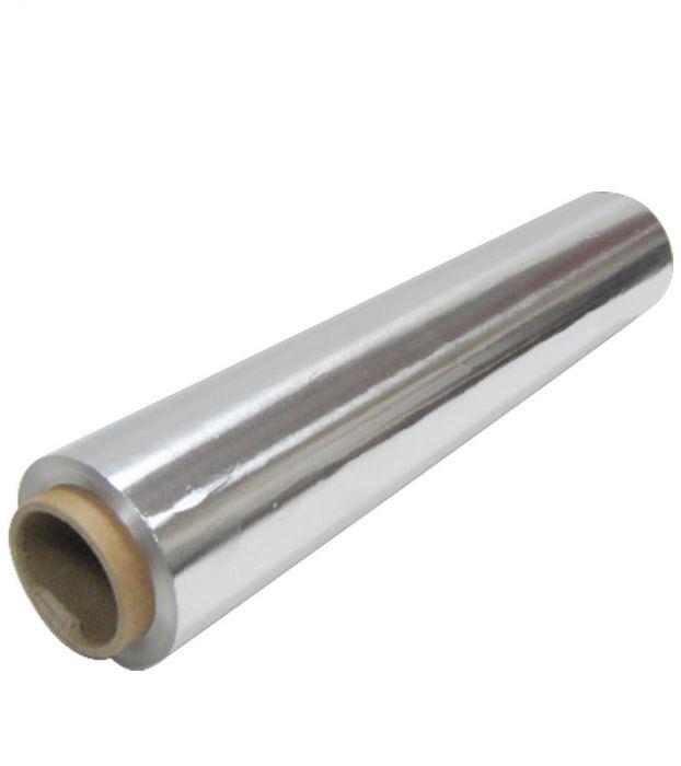 Фольга алюминиевая пищевая 0,45х100м, 8мкм, без упаковки