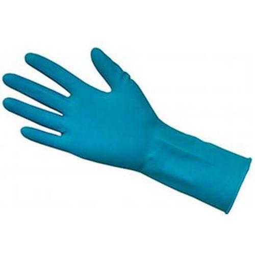 Перчатки латексные SitekMed High Risk, размер L, сверхпрочные, неопудренные, синие, 25пар/уп