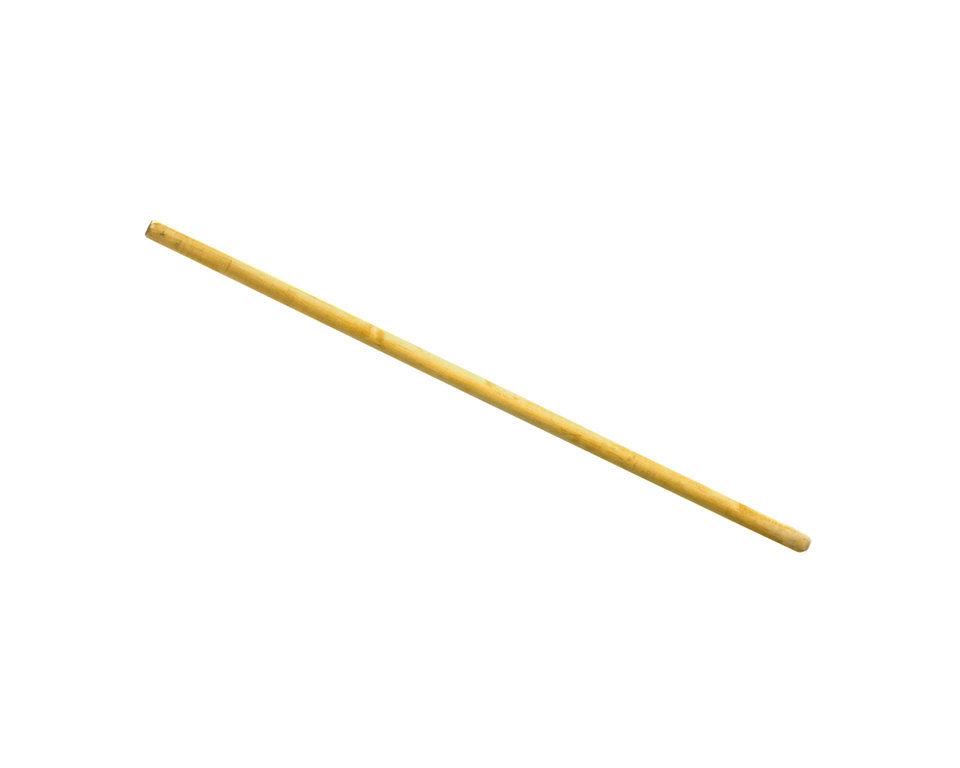 Ручка деревянная (черенок) для грабель 120см, D30мм, 1 сорт, без резьбы