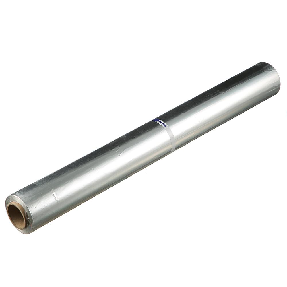 Фольга алюминиевая пищевая 0,45х100м, 9мкм, без упаковки