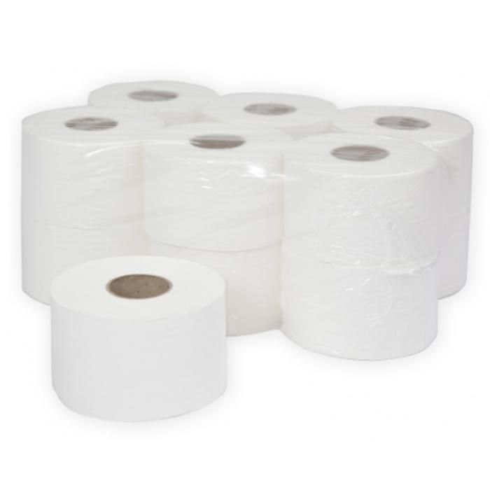"Бумага туалетная Терес ""Стандарт"" в рулоне, mini, 200м/рул, 1-сл, белая, 12рул/уп, Т-0020"
