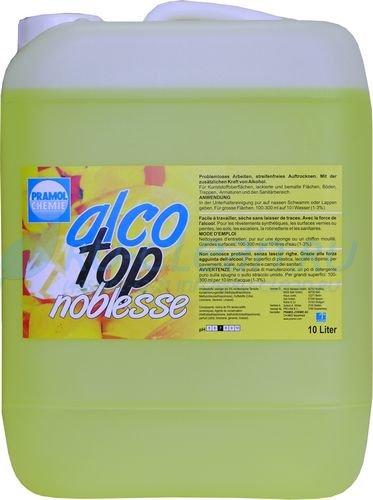 Средство моющее для полов, поверхностей Pramol Alco-top Freshness, 10л, универсальное