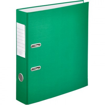 """Папка-регистратор Attache """"Экономи"""", 80мм, с арочным механизмом, зеленая"""