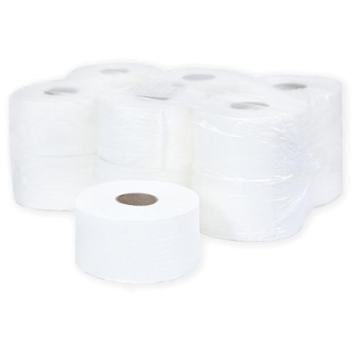 """Бумага туалетная Терес """"Комфорт"""" в рулоне, mini, 110м/рул, 2-сл, белая, 12рул/уп, Т-0043"""