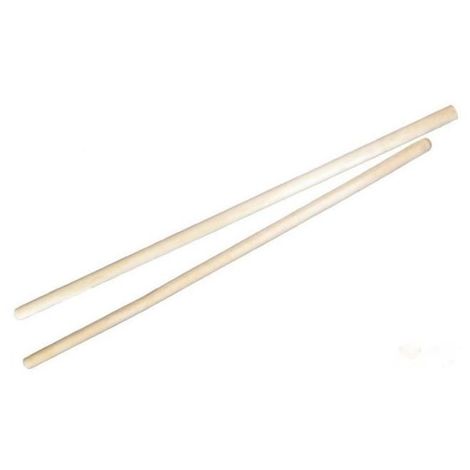 Ручка деревянная (черенок) для лопат 120см, D32мм, 1 сорт, без резьбы