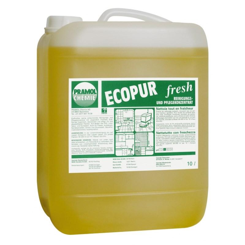Средство моющее для полов, поверхностей Pramol Ecopur fresh, 10л, универсальное