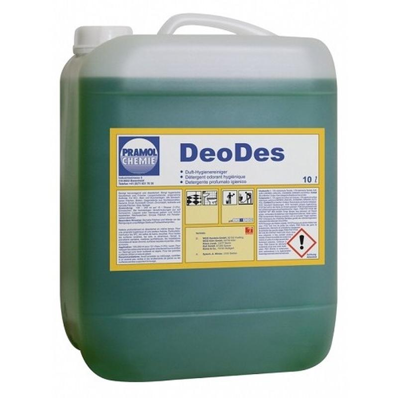 Средство чистящее для санузлов Pramol Deo-Des, 10л, против минерально-органических загрязнений