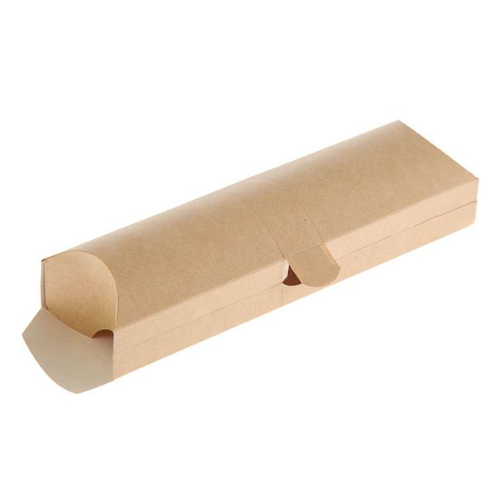Коробка картонная для ролла ECO PILLOW, 200х70х55мм, крафт, 500шт/уп