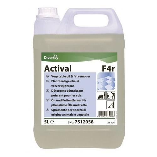 Средство моющее для полов Diversey Di Actival F4r, 5л, против стойких жировых загрязнений
