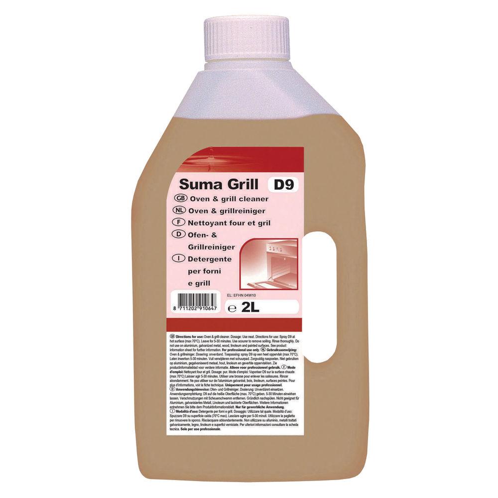 Средство моющее для печей, духовок, грилей Diversey Suma Grill D9, 2л