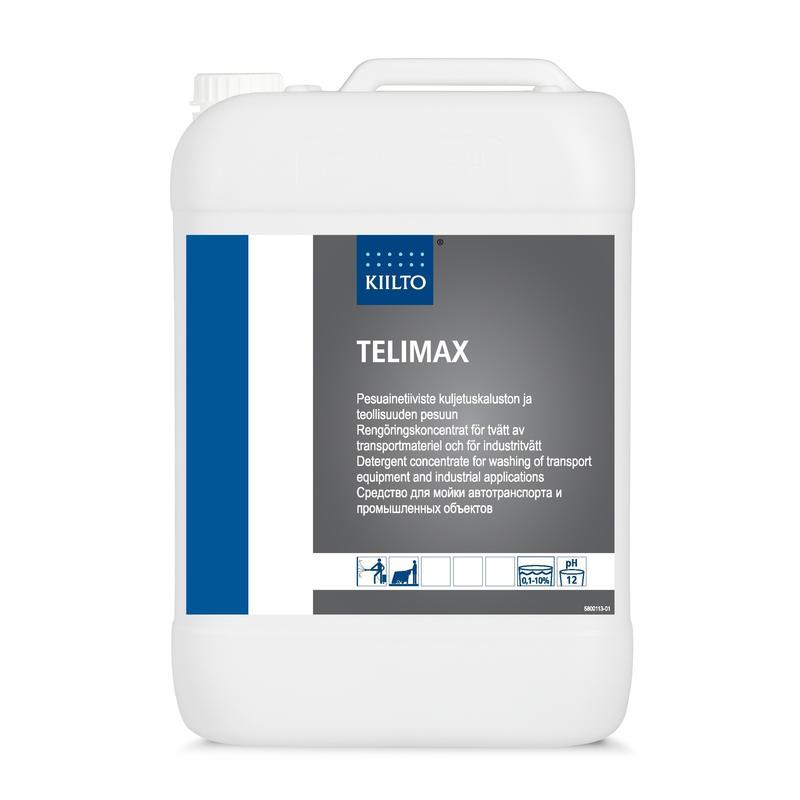 Средство моющее Kiilto Telimax, 10л, против индустриальных загрязнений