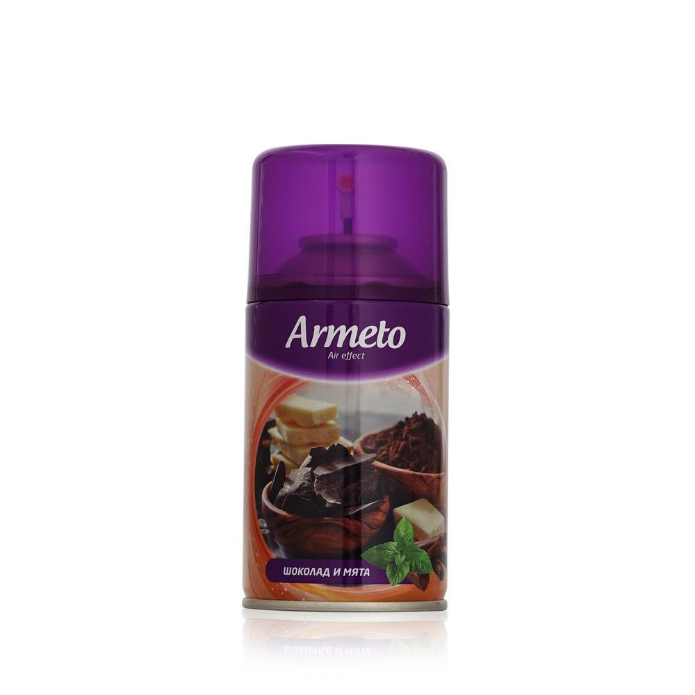 """Освежитель воздуха ARMETO """"Шоколад и мята"""", 250мл, сменный баллон"""