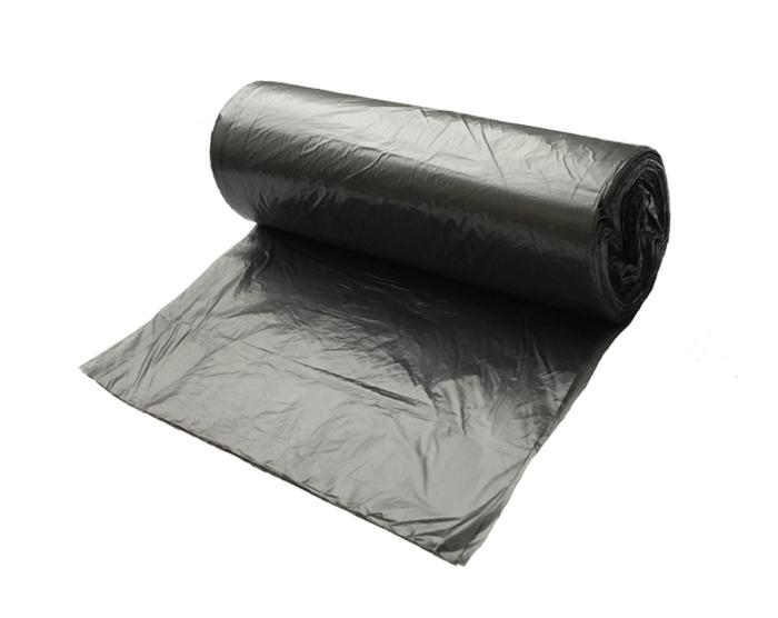 Мешки для мусора 30л, ПНД, в рулоне, 12мкм, без упаковки, 50шт/рул