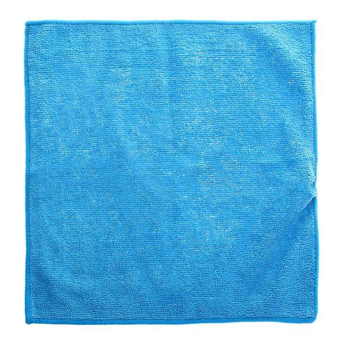 Салфетка 29х29см, микрофибра, 200г/м2, синяя